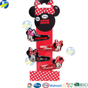 F&J Brand Minnie Hair Band Hair Clip Accessories Children Cute Baby Girl Hair Accessory Set