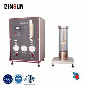 High temperature oxygen index tester for fabric Oxygen Index Test Apparatus digital limiting oxygen index test equipment