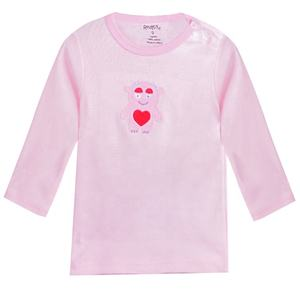 New Year Hot Selling Anti Bacterial 100 Cotton Toddlers Clothes Baby T Shirt Girl