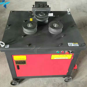 Supplier China Electric Rebar Spiral Bender/ Steel Bar Arc Bending Machine GWH-32