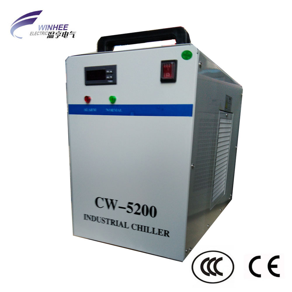 CW5200 <span class=keywords><strong>CO2</strong></span> Mesin Laser Air <span class=keywords><strong>Pendingin</strong></span> Chiller
