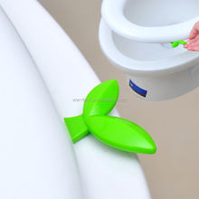 Creative toilet lid handle