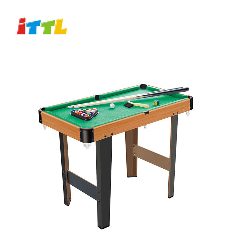 advanced wooden kids pool table with leg billiard table sports snooker game toys