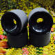 70MM 81A Longboard Wheels Black Race Downhill Slide Formula