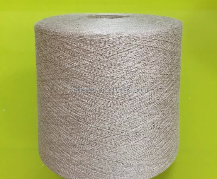 24Nm High Quality 100% Ramie Slub Yarn For Home Textile