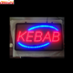 wholesale china factory price KEBAB animated led sign