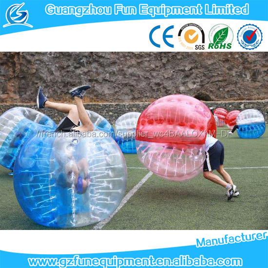 Gonflable bulle mailer/bulle boule led de La Chine