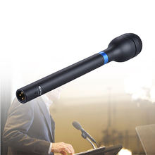BOYA BY-HM100 Handheld microphone wireless handle grips Dynamic Microphone Mic Omni-Directional XLR for speech presentation