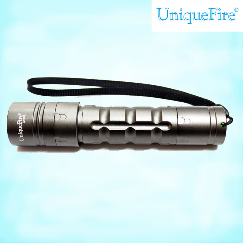 UniqueFire mini plat LED poche poche briquet torche