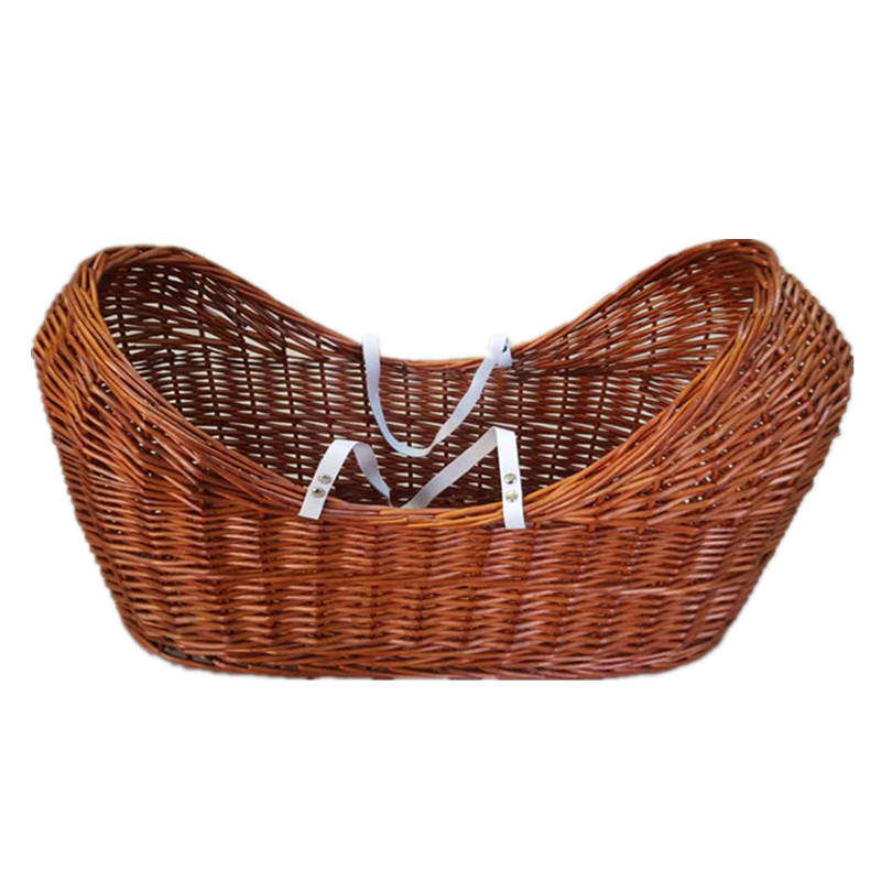 Cheap Portable baby bassinet wicker moses baby basket