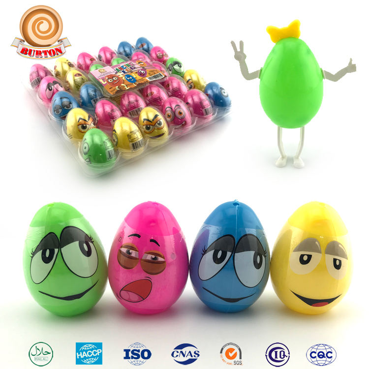 Hot sale egg man candy toy with tatoo