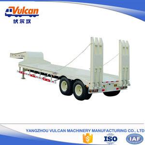 Chine OEM 2 essieux col de cygne cheval camion et remorque vente