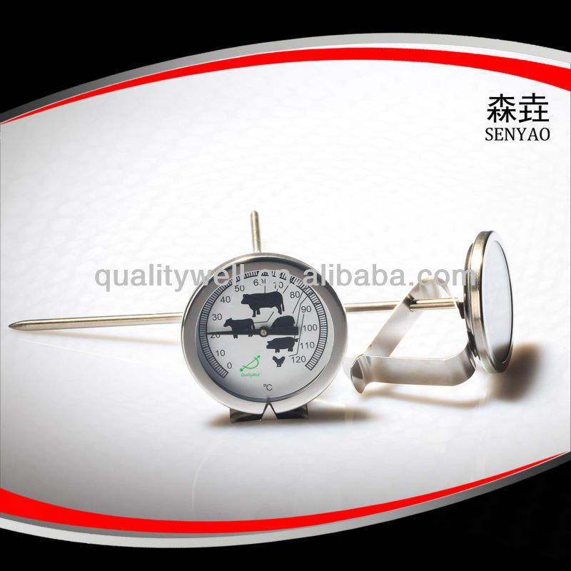 七面鳥の鍋温度計( すべてのss304材料)