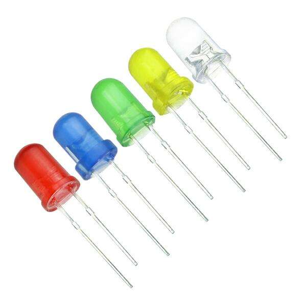 5mm LED Diodes Knipperende RODE Diffuus Knipperend Licht Emitting Diode Helderheid Flash Blink 5mm Knipperende Diodo Intermitente
