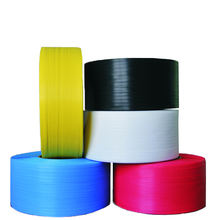 multiple colors plastic clear PP straps for packing Excellent tensile strength