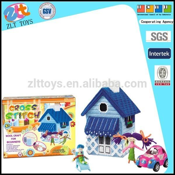 De punto de bricolaje juego <span class=keywords><strong>juguetes</strong></span>, a la casa para hacer punto, traje de punto de los niños. Para el cabrito