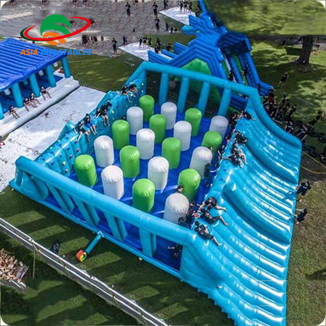 Large Inflatable Obstacle Course Inflatable 5K Obstacles Running Race