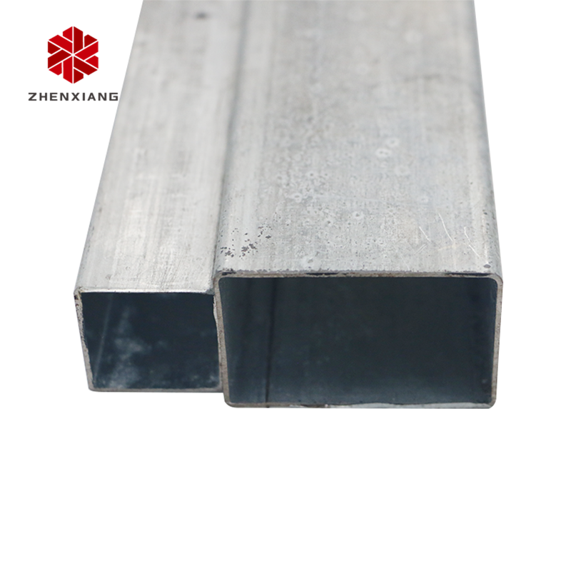 ZhenXiang 201 hot rolled tubing 2 1\/2 x 4 inch square tube steel galvanized square pipe