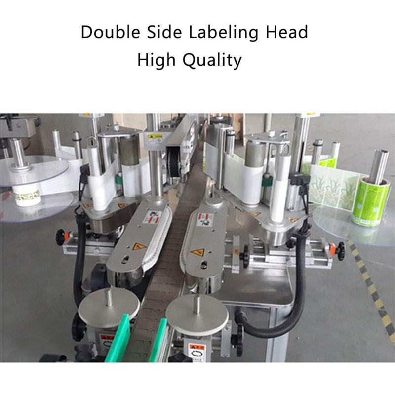 Self Labeling Machine Adhesive Bottle Labeling Machine Machine For Square Flat Container
