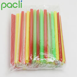 SGS Disposable plastic straw