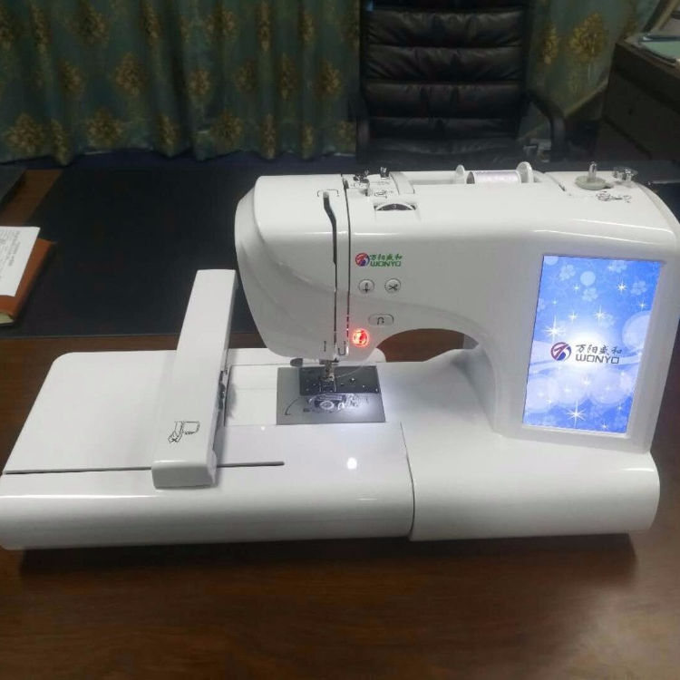 Home Use Sewing and Embroidery Machine is Similar to Brother Embroidery Machine