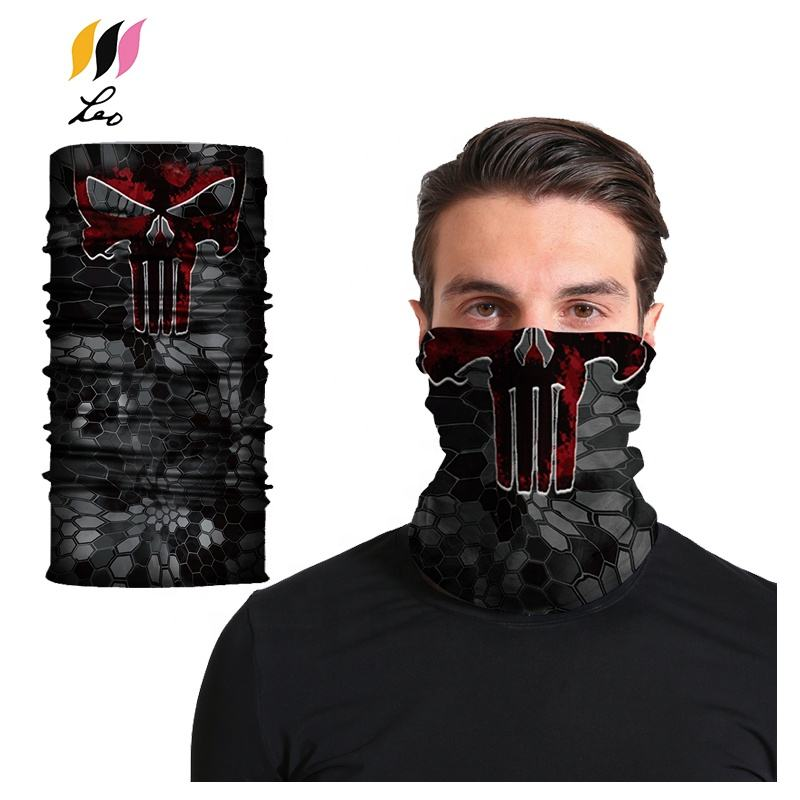 Promotional Windproof Tubular Custom Assorted Neck Bandana