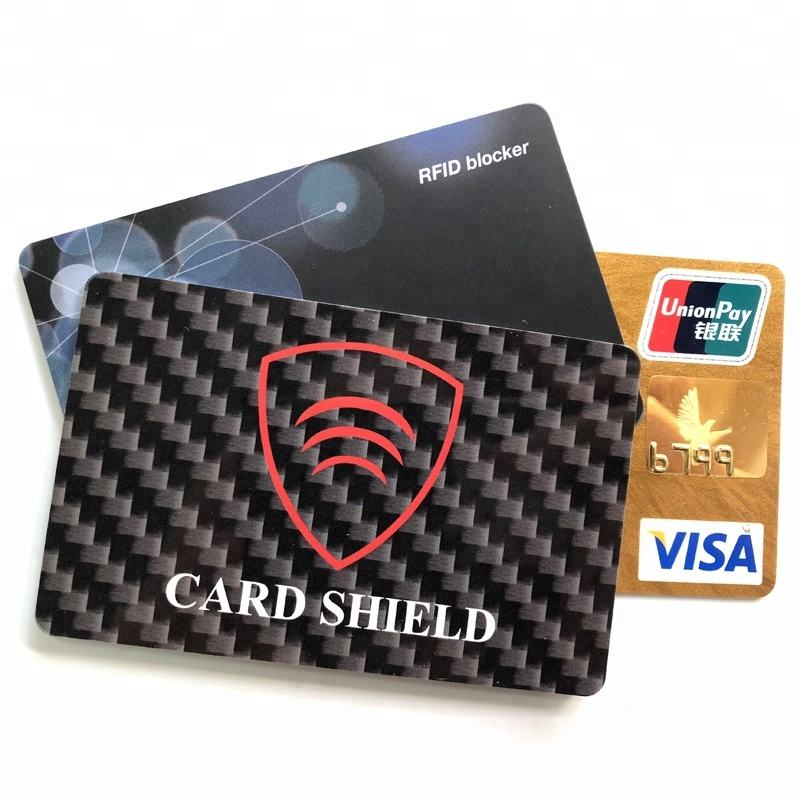 Anti Skimming Veilige Betaling RFID Blocker/Debit & Credit Protector RFID Blocking Card