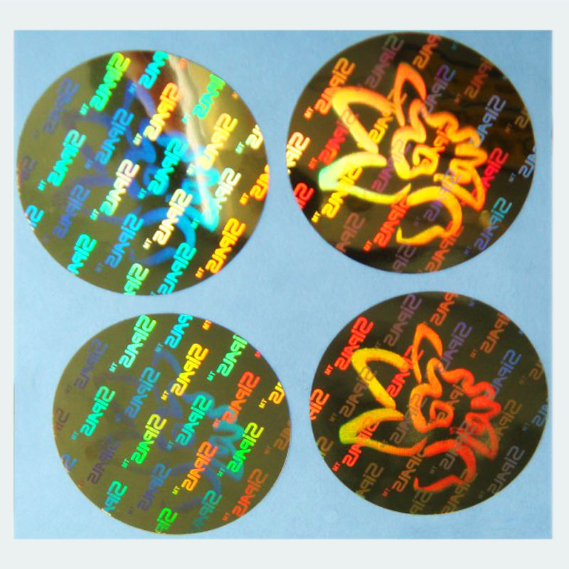 Radium Laser Void Animatie Custom Beveiliging Holografische Label 3D Hologram Sticker Papier
