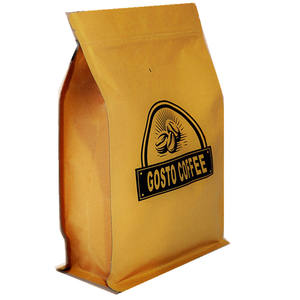 Hot Sale Custom Printed Resealable Coffee Tea Zip Lock Packing Plastic Bags with or without one way valve