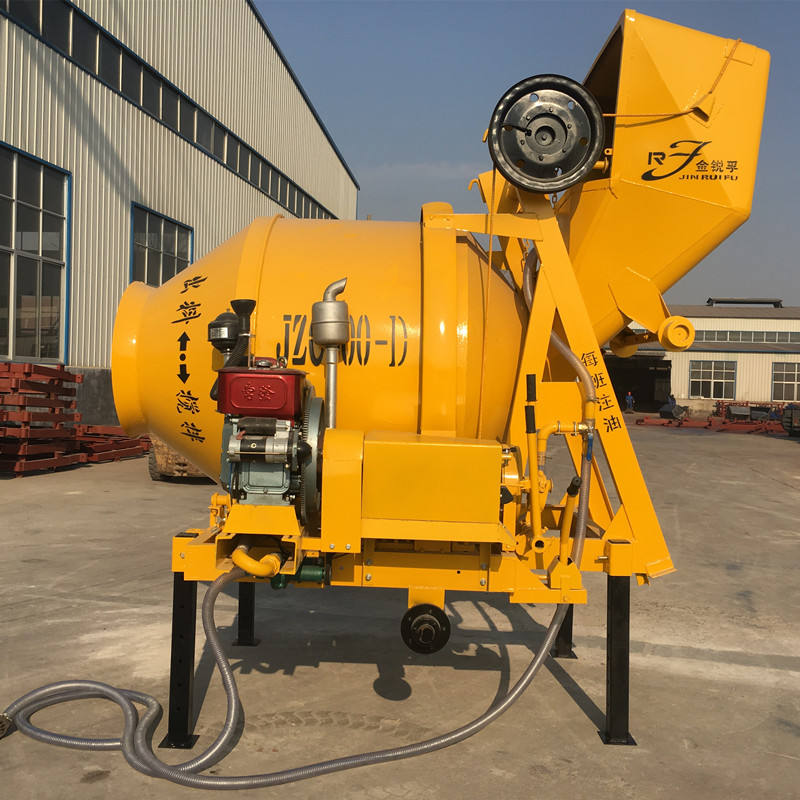 Factory Price Drum Type Ready Mix Portable Automatic Self Loading Concrete Mixer For Sale