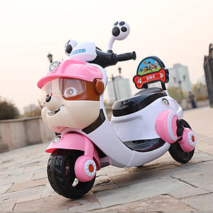 newest high quality plastic molding children ride on battery toy electric kids motorcycle