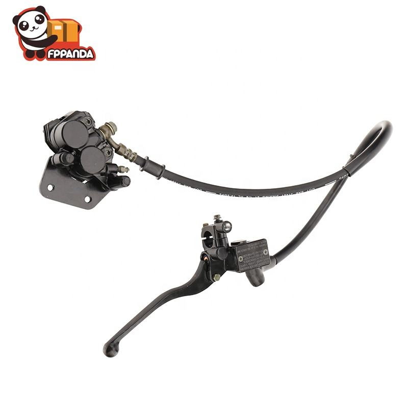 Factory price Motorcycle ATV UTV Disc Hand Brake Master Cylinder With Brake Hoses And Brake Caliper assembly