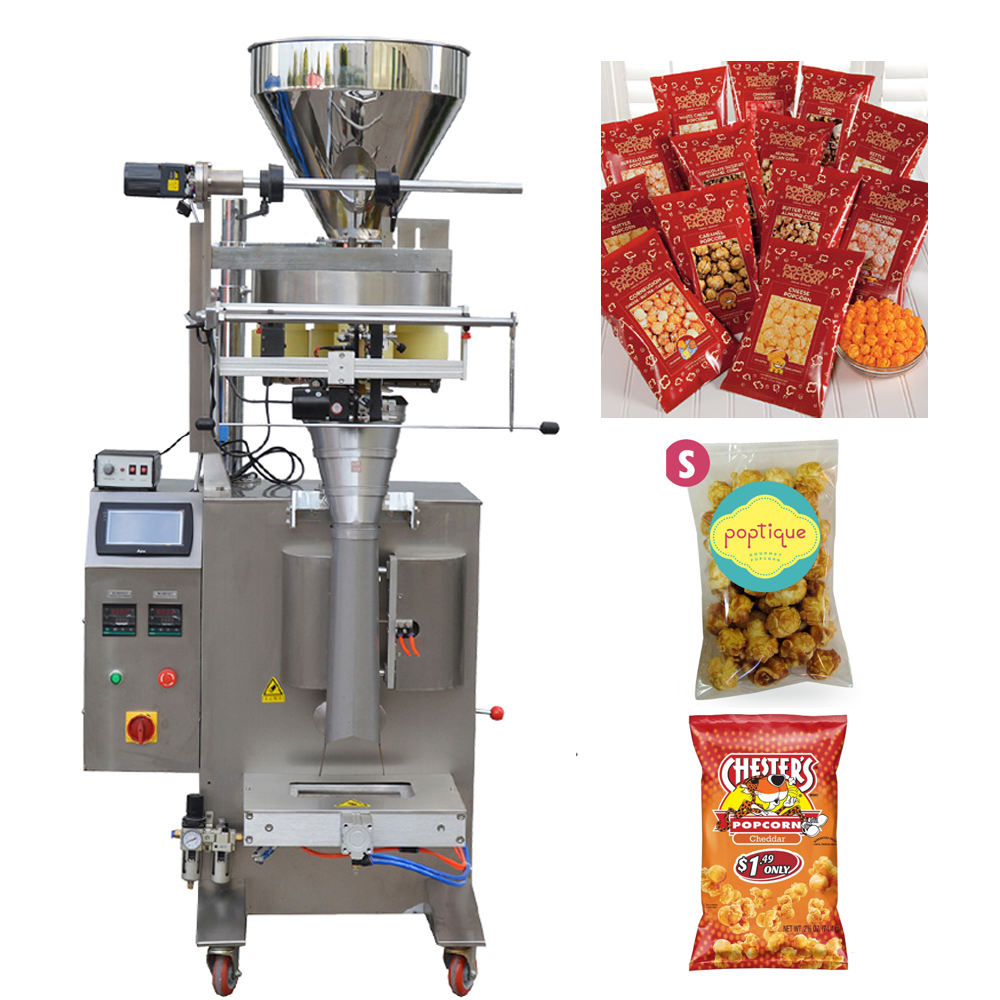 JB-300K 100g popcorn granular Automatic bagger pouch packaging machine