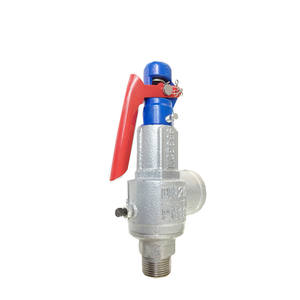 cast iron pressure relief safety valve ss for steam gas water