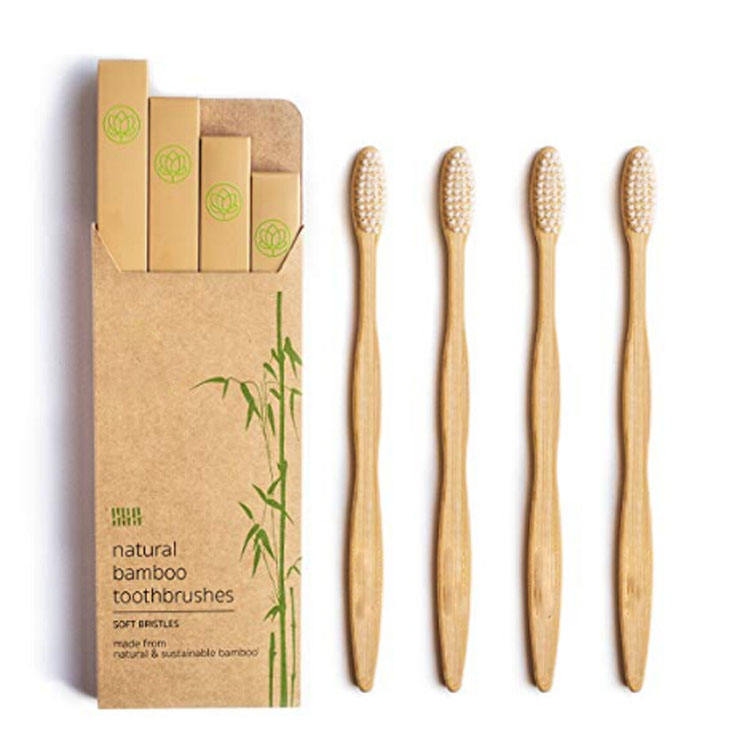 factory high quality soft baby bamboo toothbrush
