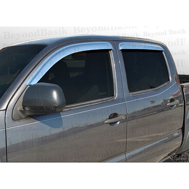 High quality tinted cast acrylic car sun visor covers for easy to install