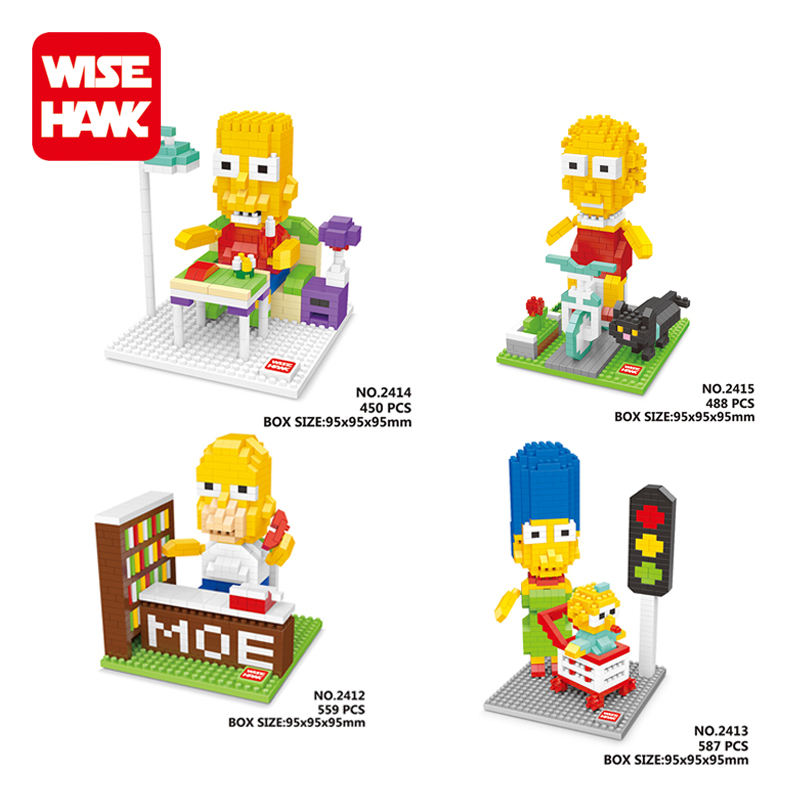 Wise Hawk factory educational plastic building block toy action figure china toy company