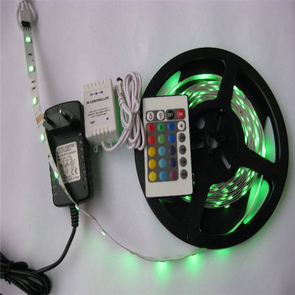Adapter 12v/6a 44 key controller rgb led tape verlichting retail blister verpakking