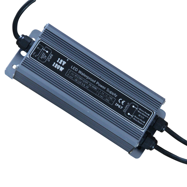 La certification DE LA CE ROHS de protection contre les surcharges DC12V/24 V 120 W courant constant LED source d'alimentation