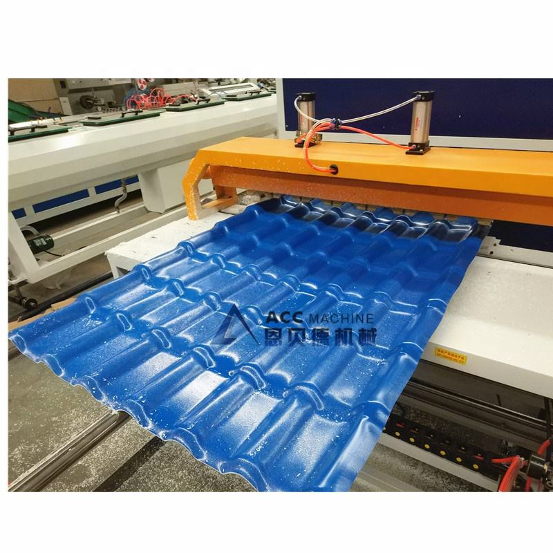 PVC Glazed Tile Roof Sheet extruder/Plate Extrusion Line Machine
