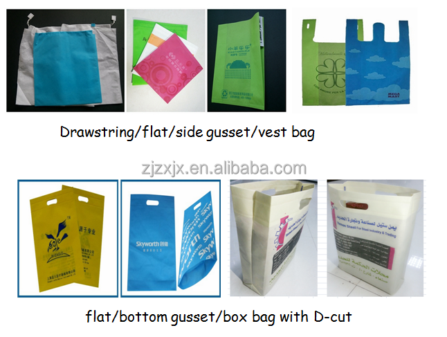 Multi-function Non Woven Fabric Shopping Bag Making Machine