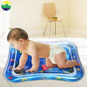 LC Water Play Mat Inflatable Baby Mat Tummy Time Mat for Babies Infants and Toddlers Child Development Accessory