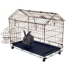 A Frame Bunny House  Metal WIire Mesh Welded Rabbit Cage