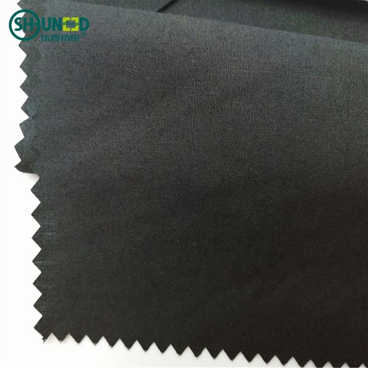 China Wholesale Polyester Cotton Pocketing Roll Plain 45s*45s Woven Fabric for People's Jeans Pockets