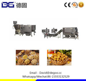 Commercial High-quality Caramel Hot Air Popper Production Line Low Price