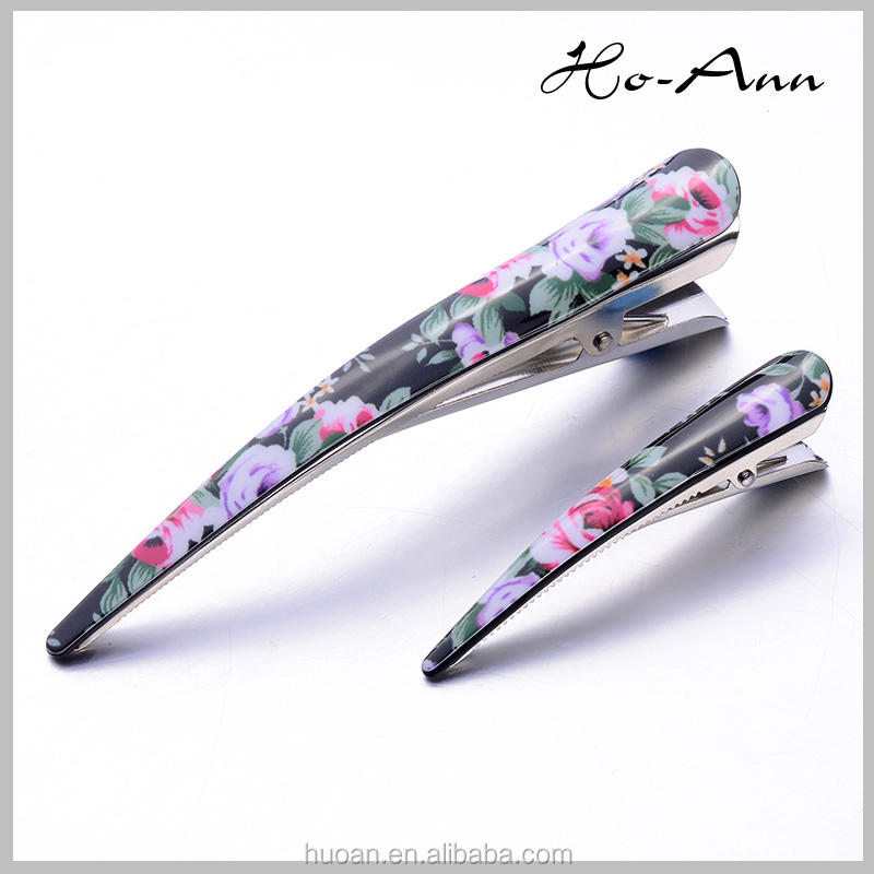 2016 korean acrylic hairpin and colorful haipin for women