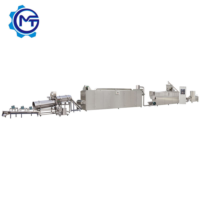 New design pet food production line/extruder pet food/dry dog food manufacturing plant