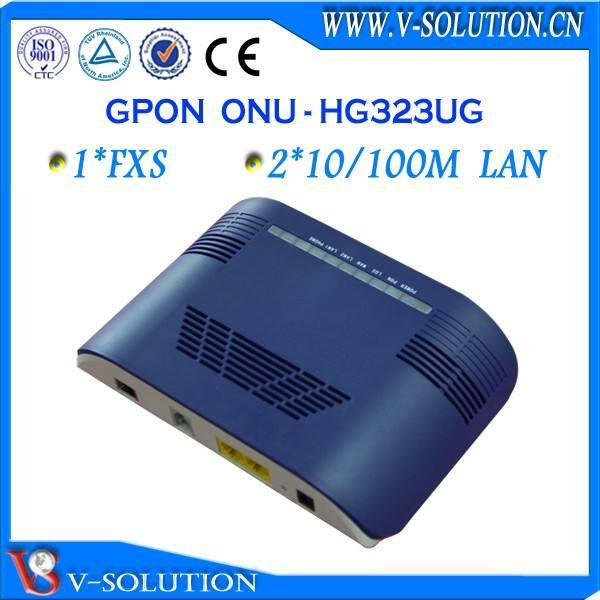 gpon ftth الشبكات 1 fxs 2fe زد هواوي متوافقة مع الألياف الضوئية onu olt