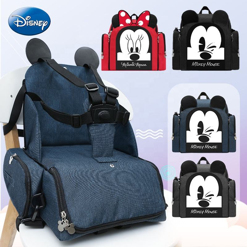 Disney Maternity Large Multifunction Backpack Baby Care Nappy Baby Diaper Bag Backpack