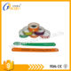 GJ-8010 Hot promotion snap lock plastic wristbands for kids